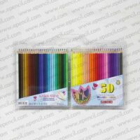 24. 50pcs Round_Tri_Hex Colour Pencil in PVC Clamshell_800x800
