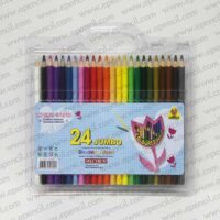 26. 24pcs Jumbo Round_Tri_Hex Colour Pencil in PVC Clamshell_800x800
