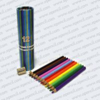 38. 12pcs 176mm Jumbo Round_Tri_Hex Colour Pencil in Paper Drum_800x800