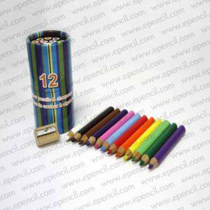 39. 12pcs 87mm Jumbo Round_Tri_Hex Colour Pencil in Paper Drum_800x800