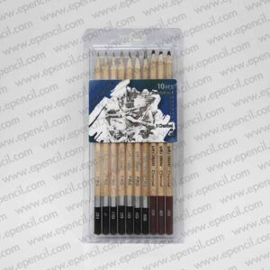 81. 10pcs sketch pencil in PVC Clamshell_800x800