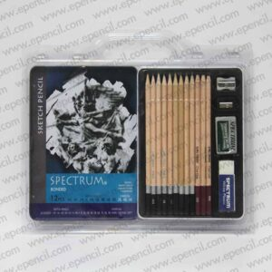 83. 16pcs Sketch Set with Tin Case in PVC Clamshell_800x800